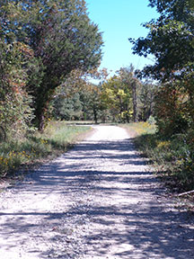 Jackson County Indiana road